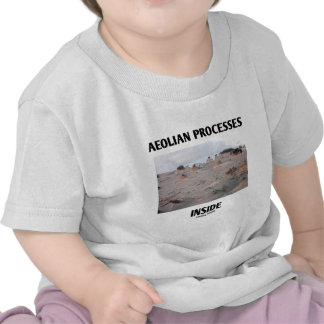 Aeolian Processes Inside Rocky Landscape Erosion Shirts