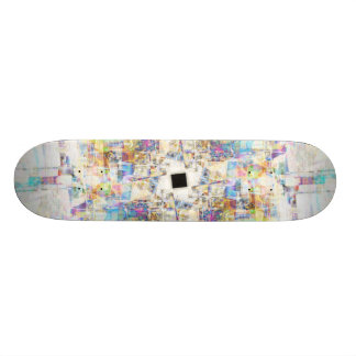Aerial Cityscape Skate Board Decks