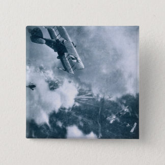 Aerial Combat on the Western Front, World War One, 15 Cm Square Badge