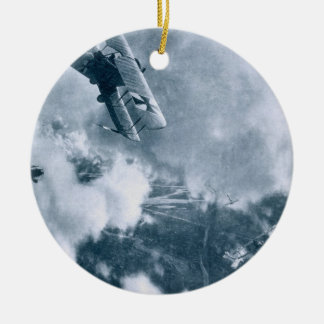 Aerial Combat on the Western Front, World War One, Christmas Ornament