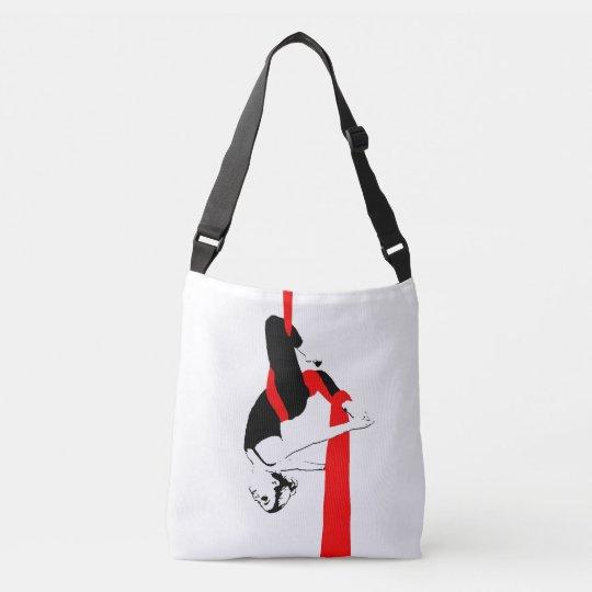 Aerial Dance Cross Body Bag -- Silks and Hoop