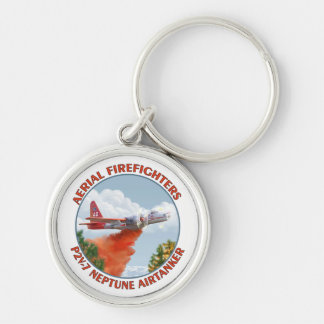 Aerial Firefighters P2V Premium Keychain