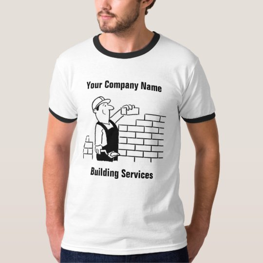 Aerial Fitting Services Cartoon T-Shirt
