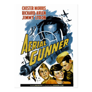 """Aerial Gunner"" Postcard"