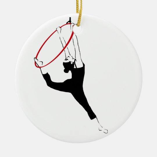 Aerial Hoop / Lyra Double Sided Ornament