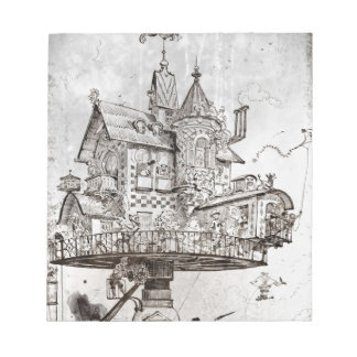 Aerial House Maison Tournante Notepad