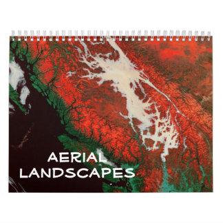 Aerial Landscapes Calendar