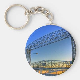 Aerial Lift Bridge Key Ring