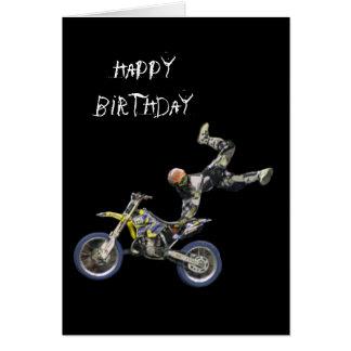 aerial moto-cross #2 vertical card