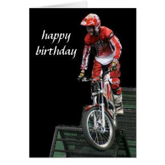 aerial moto-cross #5 vertical card