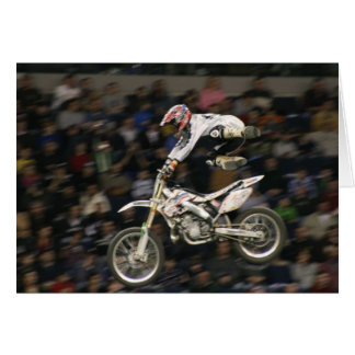aerial moto-cross #7 with crowd card