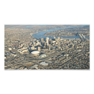 Aerial New Orleans Photo Print