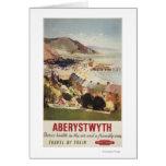 Aerial of Coast British Railways Poster Card