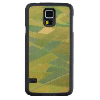 Aerial Of Farmlands In Ethiopia Carved Maple Galaxy S5 Case