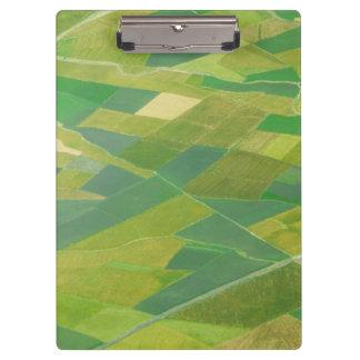 Aerial Of Farmlands In Ethiopia Clipboard