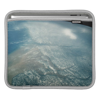 Aerial of the Mouth of Amazon iPad Sleeve