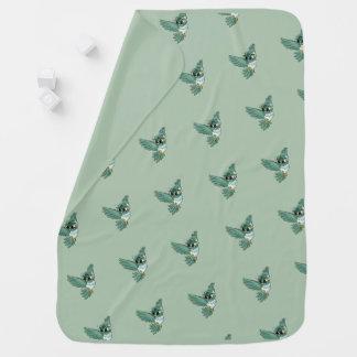 Aerial Owl! Baby Blanket