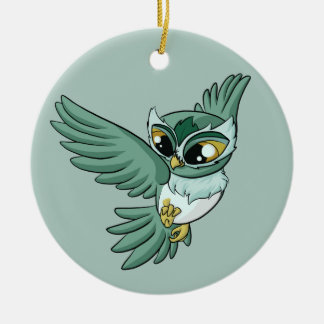 Aerial Owl! Christmas Ornament