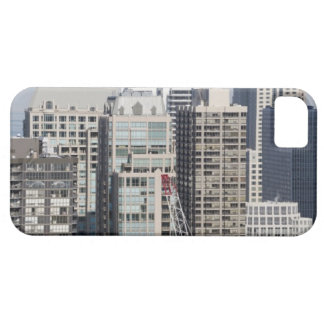 Aerial panoramic view of buildings in Chicago's 2 Barely There iPhone 5 Case
