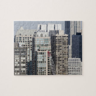 Aerial panoramic view of buildings in Chicago's 2 Jigsaw Puzzle
