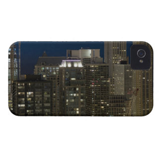 Aerial panoramic view of buildings in Chicago's Case-Mate iPhone 4 Case