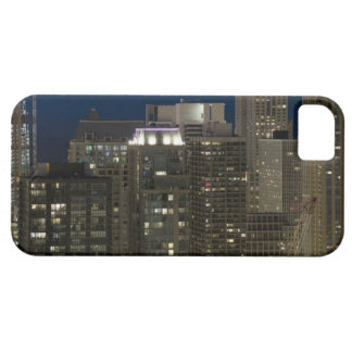 Aerial panoramic view of buildings in Chicago's iPhone 5 Covers