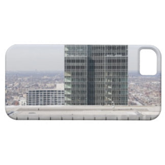 Aerial panoramic view of Chicago's west side iPhone 5 Covers