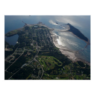 Aerial Photo of St. Andrews, New Brunswick Poster