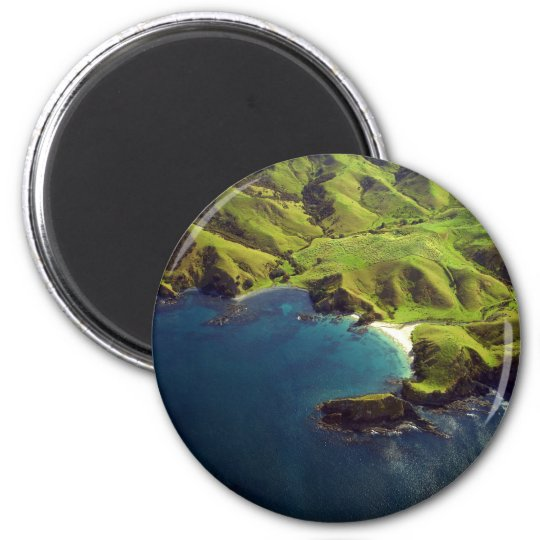 Aerial Photograph of Northland, New Zealand Magnet