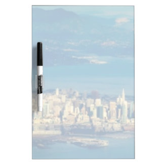Aerial photograph of the San Francisco Bay Dry Erase Board