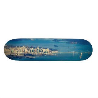 Aerial photograph of the San Francisco Bay Skate Board Decks