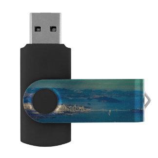 Aerial photograph of the San Francisco Bay USB Flash Drive