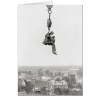 Aerial Photographer, 1925 Card
