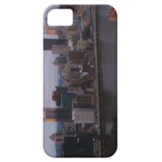 Aerial Pittsburgh Skyline at sunset Barely There iPhone 5 Case