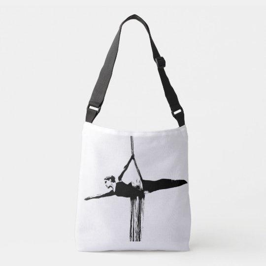 Aerial Silks Cross Body Bag / Studio Gym Bag