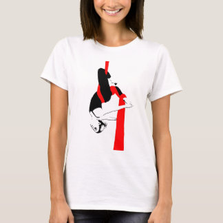 Aerial Silks Dancer Gemini Pose T-Shirt