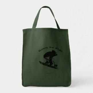 AERIAL SNOW BOARDER Series Tote Bag