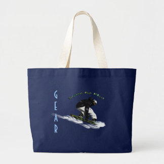 AERIAL SNOW BOARDER Series Canvas Bag