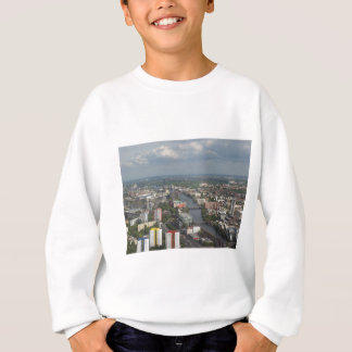 Aerial view Berlin with Spree River Germany Sweatshirt
