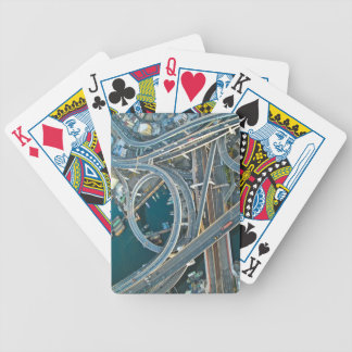 Aerial View Bicycle Playing Cards