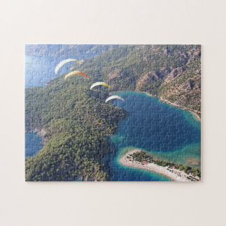 Aerial view jigsaw puzzle