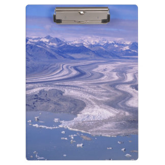 Aerial view Lowell Glacier, Kluane National Clipboard