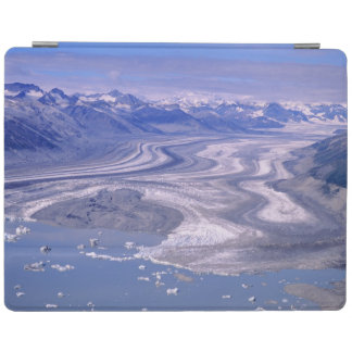 Aerial view Lowell Glacier, Kluane National iPad Cover