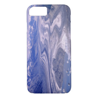 Aerial view Lowell Glacier, Kluane National iPhone 7 Case
