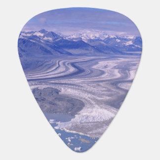Aerial view Lowell Glacier, Kluane National Plectrum