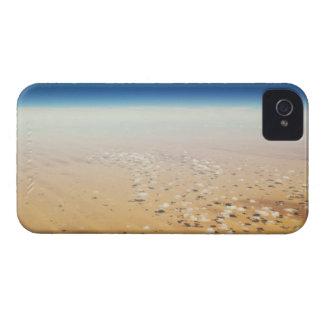 Aerial view of a desert blackberry bold case