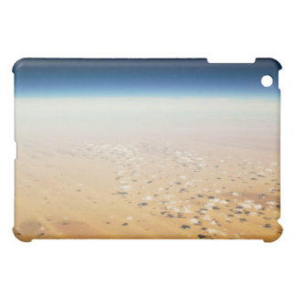 Aerial view of a desert cover for the iPad mini