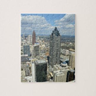 Aerial View of Atlanta, Georgia Jigsaw Puzzle