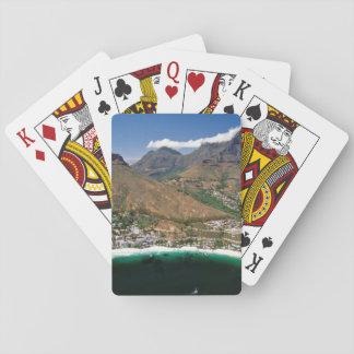 Aerial View Of Atlantic Seaboard Showing Clifton Playing Cards