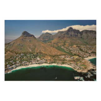 Aerial View Of Atlantic Seaboard Showing Clifton Wood Wall Decor